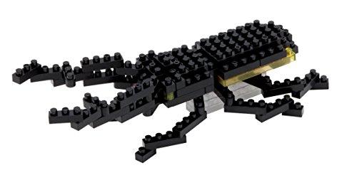 Preisvergleich Produktbild Nanoblock IST-002 Minibaustein 3D-Puzzle - Hirschkäfer