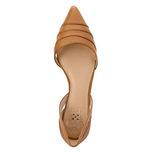 Vince Camuto Halette Femmes Cuir Chaussure Plate Sand Trap
