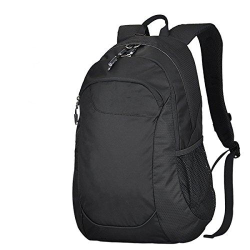 BULAGE Tasche Schultern Männer Und Frauen Bergsteigen Outdoor Wasserdicht Computer Schultasche Mode Einfach Großzügig Black