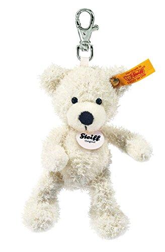 Steiff 111785 - Schlüsselanhänger Lotte Teddybär weiss