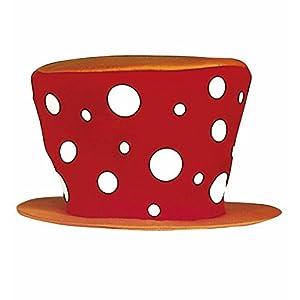 WIDMANN CLOWN MAXI HAT - RED
