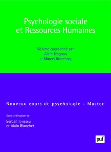 Psychologie sociale et ressources humaines par Alain Trognon, Marcel Bromberg