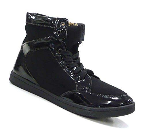 Donna Nero Schuh Stivaletti Scarpe Alta Sneaker Class city Alta Da 5EvqxSnqwz