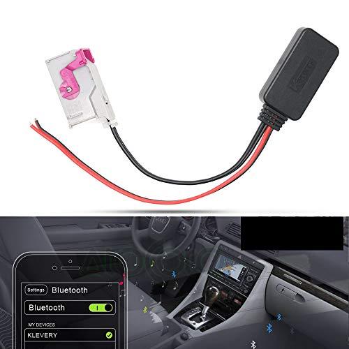 MASO RNS-E - Módulo Bluetooth para Radio A8 TT R8 A3 A4 de 32 Pines AUX  Cable Adaptador de Entrada Auxiliar