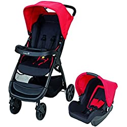 Safety 1st Amble Pack Duo Poussette Combinée Plain Red, collection 2017