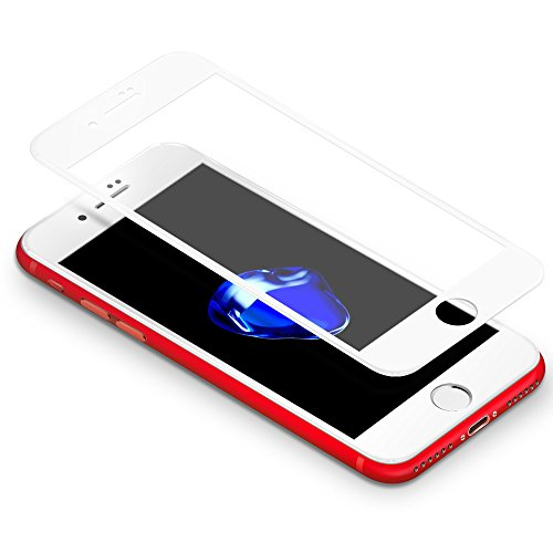 iPhone 7 Plus Protector 3D Coolreall Curva Blanco Completo Cobertura T