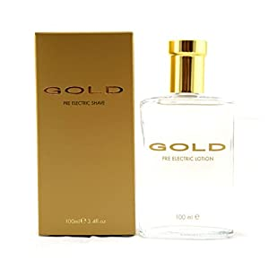 Gold by Parfums Bleu Pre-Electric Shaving Lotion 50ml