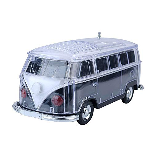 SODIAL Auto Ws-267Bt Mini Bluetooth Mini Bus Lautsprecher Sound Box Mp3 + + U Platte + Tf + Fm Schwarz