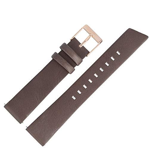 Liebeskind Berlin Uhrenarmband 18mm Leder Braun - Uhrband 133
