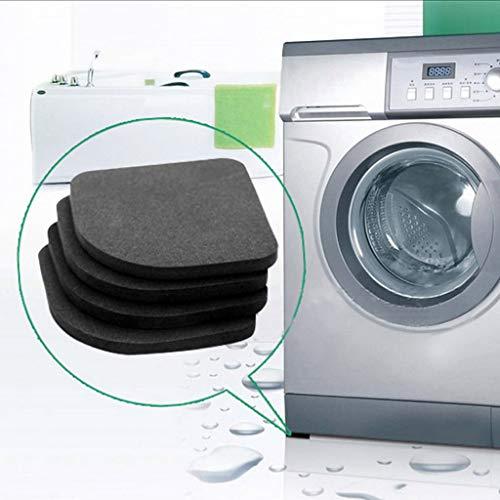 Badezimmerprodukte,TwoCC Schock Stumm Waschen Maschine Polster Kühlschrank Rutschfest Anti Vibration Matten -