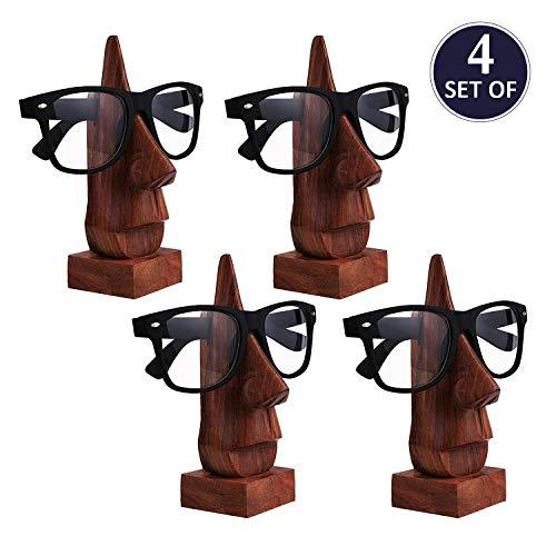 Holz Brillenhalter, Brillenhalter, Eyeware Halter Halter, Sonnenbrille stehen, Brille Halter, Set von vier ,, Ostern Tag / Muttertag / Karfreitag Geschenk