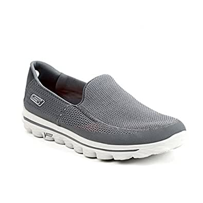 Skechers - 53590 Mens Go Walk Pumps, Charcoal, 7 UK Adult