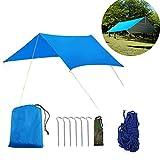 Buycitky Camping bâche imperméable Ripstop Rain Tarp Bâche Tente Anti Pluie Rain...