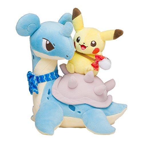 Pokmon-Center-Original-Plush-Toy-Peluche-Pikachu-Riding-Lapras-Lokhlass