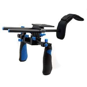 Professional Shoulder Support Rig Shoulder Mount Movie Kit for DSLR and Camcorder Such As Canon 7D 600D 550D Nikon D3X D700 D90 etc.