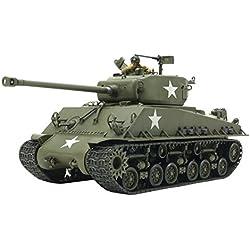 Tamiya Vehículo Euro Sherman 353461: 35 US M4 A3E8 Easy Eight