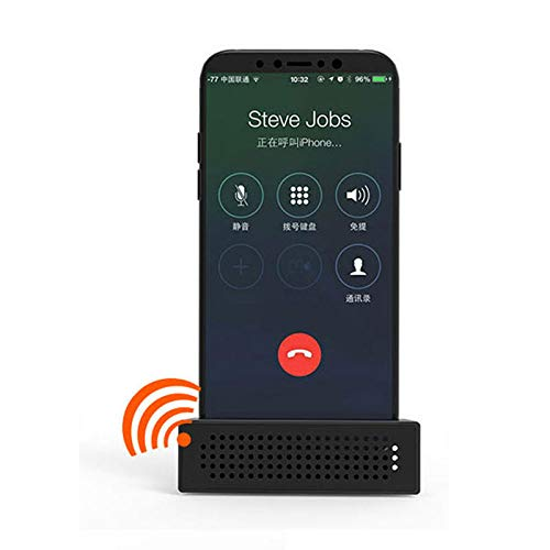 SGerste - Amplificador sonido 2 1 ajustable iPhone