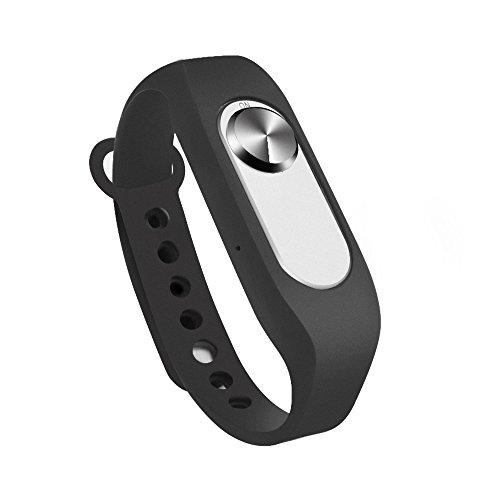 Digitales Diktiergeräte, 8GB USB Voice Recorder 20 Stunden Digitalrecorder Diktiergerät Wristband Recorder Armband Audio Recorder Armband für Büro Schule Interviews