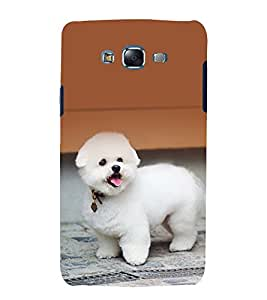 printtech Cute Dog Puppy Back Case Cover for Samsung Galaxy Core Prime G360