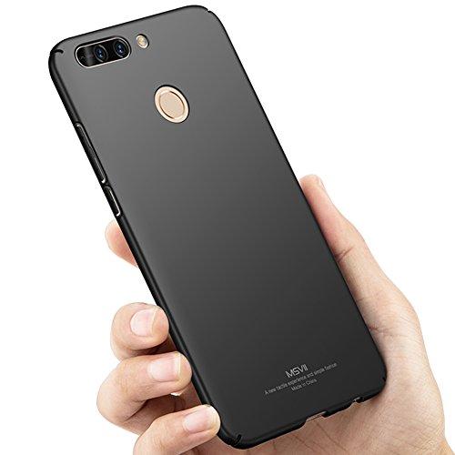 Coque Huawei Honor 8 Pro 5,7 pouces / Honor V9, MSVII® Très Mince Coque Etui Housse Case et Protecteur écran Pour Huawei Honor 8 Pro 5,7 pouces / Honor V9 - Violet JY00265 Noir