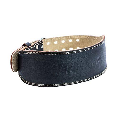 Harbinger Gürtel für Gewichtheber 4 Zoll Leather Belt, Black, L