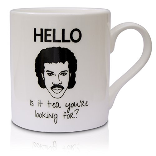 Becher/Tasse Fun Lionel Richie, Hello-it's a tea looking for you 're?