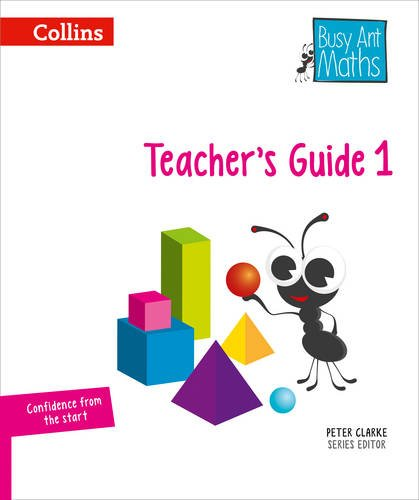 Busy Ant Maths European edition – Year 1 Teacher Guide Euro pack