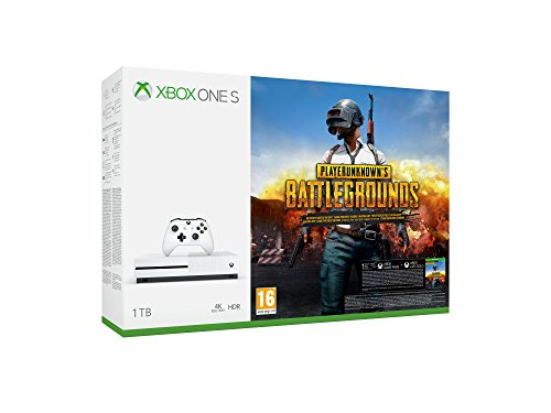 Xbox One S - Consola de 1 TB + Playerunknown's Battlegrounds