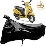 Adroitz Bike Body Cover for Honda Activa 5G (Black)