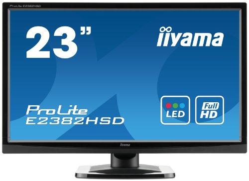 IIYAMA E2382HSD 23 inch Widescreen LED Monitor (5ms, DVI-D)
