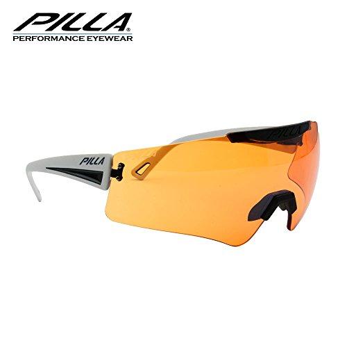 Pilla Vigilante Lunettes de tir 45MX Orange objectif Cadre Gris