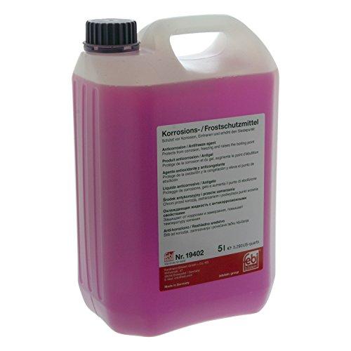 febi bilstein 19402 Frostschutzmittel G12+ für Kühler (lila) 5 Liter