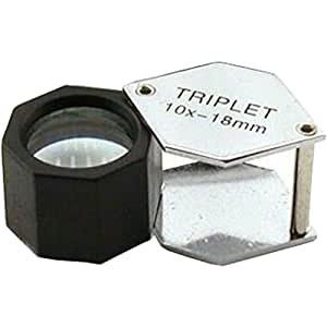 Triplet Loupe - As recommended by BBC Wildlife Magazine Ed. 06.2008 (Magnifier)