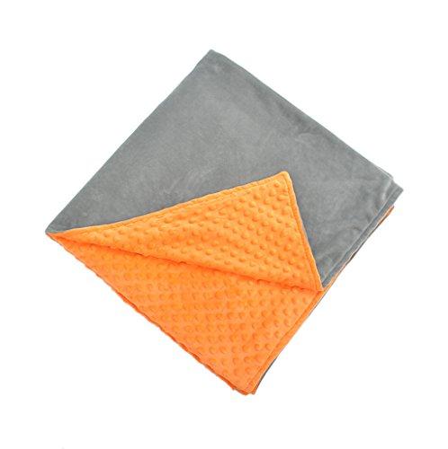 QFF Gravity Blanket, Home Weight Gain Teens Dekompressionsdecke Colorful Sleep Blanket Air Conditioning Blanket Vier Jahreszeiten Leisure Blanket Lesen Decke Behandlung Blanket 7-11.5KG Gemütlich ( Farbe : 9KG , größe : 150*200CM ) (Teen Lesen)