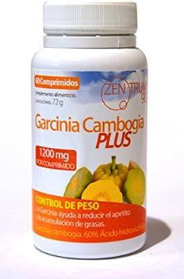 GARCINIA CAMBOGIA, ayuda a reducir el apetito, 1200 miligramos, contribuye a reducir tu grasa, 1 cápsula al día, control de peso, complemento para la dieta, 60 comprimidos, quemagrasas, control del apetito.