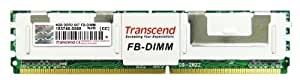 Transcend TS512MFB72V6T-T Mémoire RAM 4 Go DDR2 667 FB-DIMM (2R/256MX4/CL5)