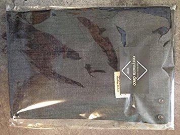 cozymom Chef Schürze Geschenk japanischen Stil, X Form Denim Smock Natürliche Baumwolle apron-black Farbe - Denim Smock