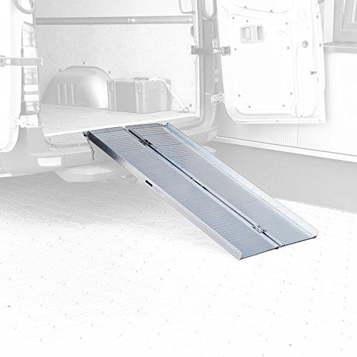 Rampe pour Fauteuil Roulant, Largeur Rampe d'accès, Quai de chargement, pliable,/court