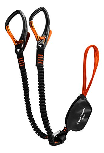 Scopri offerta per Black Diamond Easy Rider via Ferrata Set Scuro Ardesia
