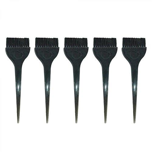 Vococal® 5 Pcs Brosse pour Couleur Tinting Colorant Applicateur Noir