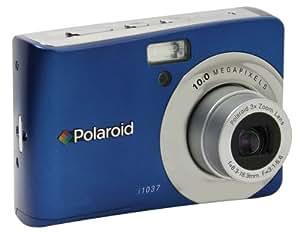 Polaroid i1037 Digitalkamera (10 Megapixel, 3-fach opt. Zoom, 6,8 cm Display) blau