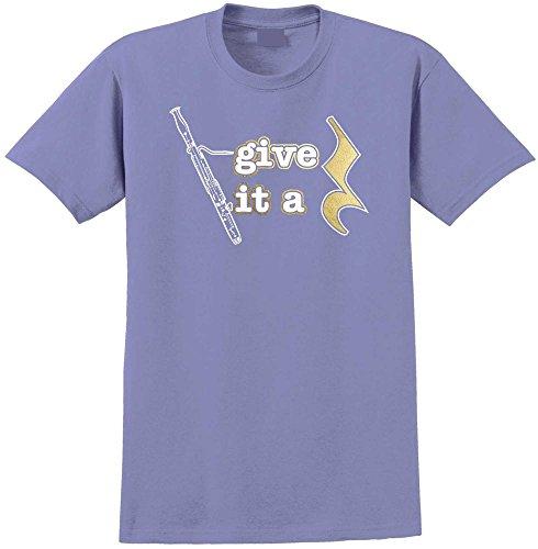 Give It A Rest - Violett T Shirt Größe 81cm 32in Med 9-11 Jahr ()