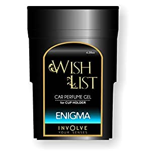 Involve Your Senses Wish List Gel IWL04 Enigma Car Air Freshener (120 g)