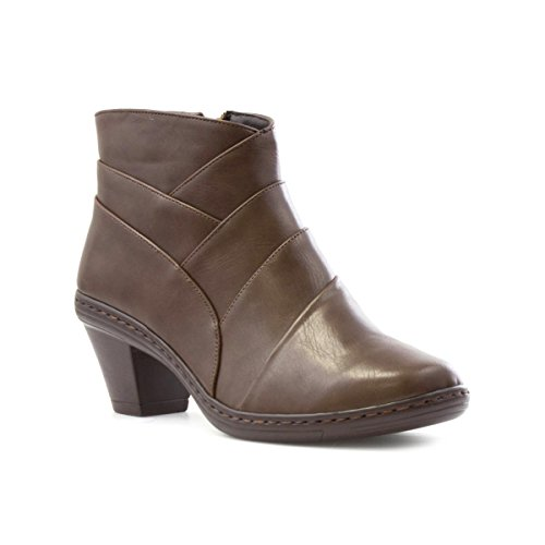 Cushion Walk Womens Ankle Boot in Brown - Size 8 UK -...