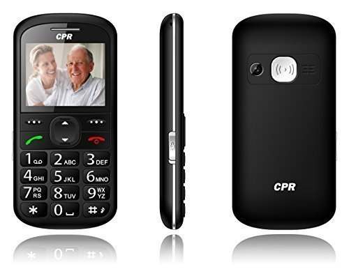 CS600 CPR Call Blocker Big Button Mobile Phone with Emergency Assist Button