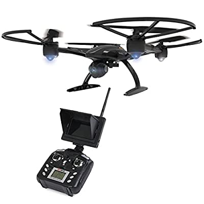 RC Quadcopter - JXD 509G 5.8G FPV Drone with 2.0MP HD Real-time Aerial Camera, High Hold Mode Headless Mode One Key Return RC Quadcopter