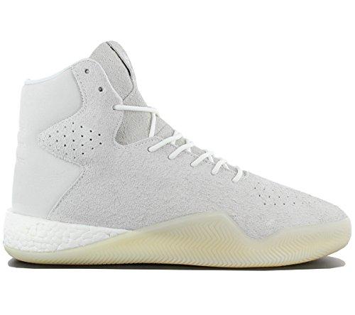 adidas Originals Tubular Instinct Boost Sneaker Schuhe Grau/Beige/Weiss, Schuhgröße:EUR 44