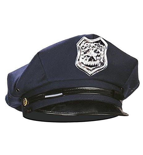Widmann - Cappello da Poliziotto Americano, Blu