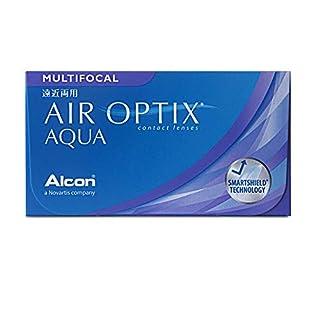 Air Optix Aqua Multifocal Monatslinsen weich, 6 Stück / BC 8.6 mm / DIA 14.2 mm / ADD MED / -3,25 Dioptrien