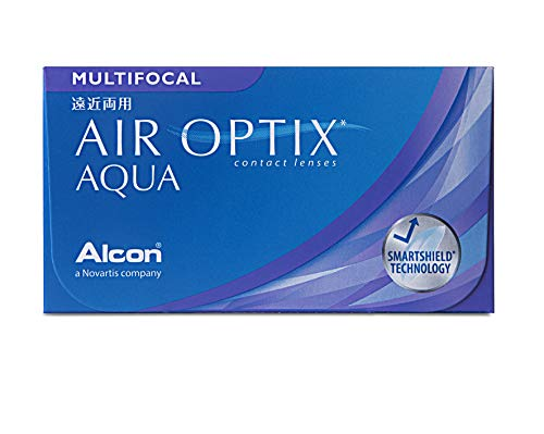 Air Optix Aqua Multifocal Monatslinsen weich, 6 Stück / BC 8.6 mm / DIA 14.2 mm / ADD HIGH / +3,25 Dioptrien